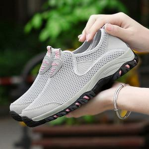 Elastic Band Mesh Athletic Shoes -