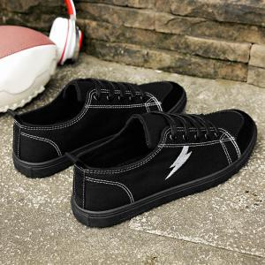 The Flash Lightning Canvas Sneakers -