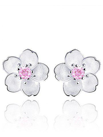 Latest Faux Crystal Floral Shape Earring Jackets