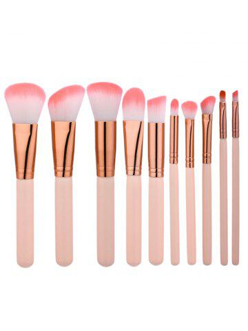 Shop 10Pcs Beauty Make Up Brushes Set - COMPLEXION  Mobile