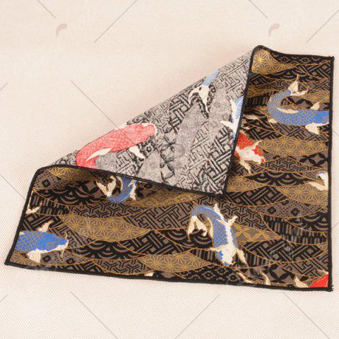 Chic Animal Pattern Embellished Handkerchief - BROWN  Mobile