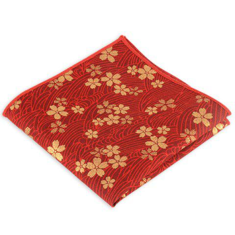 Shop Portable Retro Ethnic Pattern Handkerchief