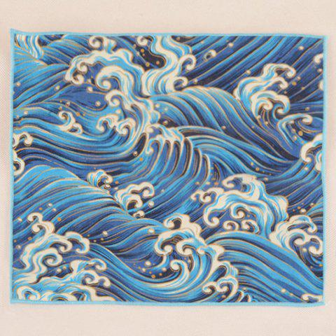 Fancy Portable Retro Ethnic Pattern Handkerchief - AZURE  Mobile