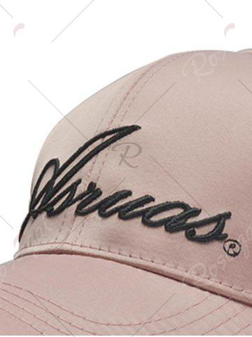 Store Letters Embroidery Long Tail Embellished Baseball Cap - PINKBEIGE  Mobile