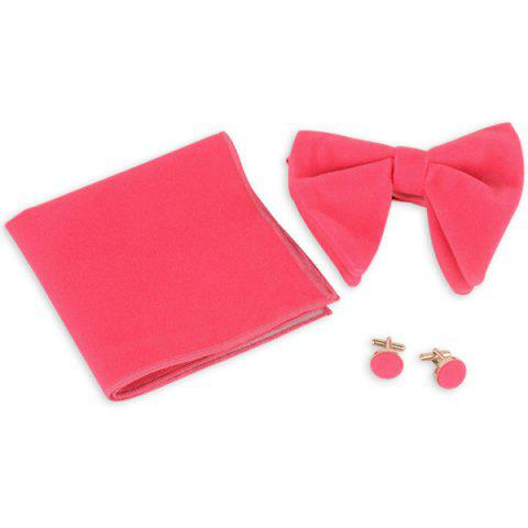 Affordable Three Pieces Handkerchief Bowtie Cufflink Suit - TUTTI FRUTTI  Mobile