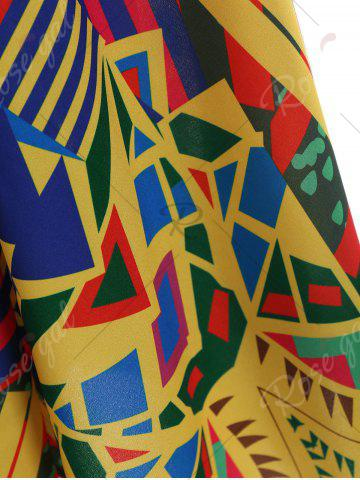 Affordable Asymmetrical Printed Cami Palazzo Jumpsuit - 2XL COLORMIX Mobile