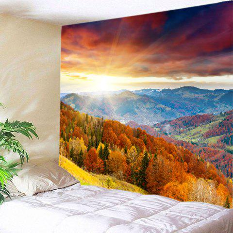Sun Moutains View Print Tapestry Wall Hanging Art Décoration