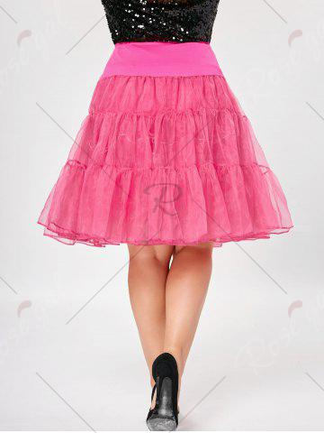 Buy Plus Size Cosplay Light Up Party Skirt - 6XL TUTTI FRUTTI Mobile