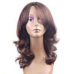 Long Layered Middle Part Wavy Synthetic Wig