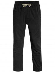Drawstring Men Pants