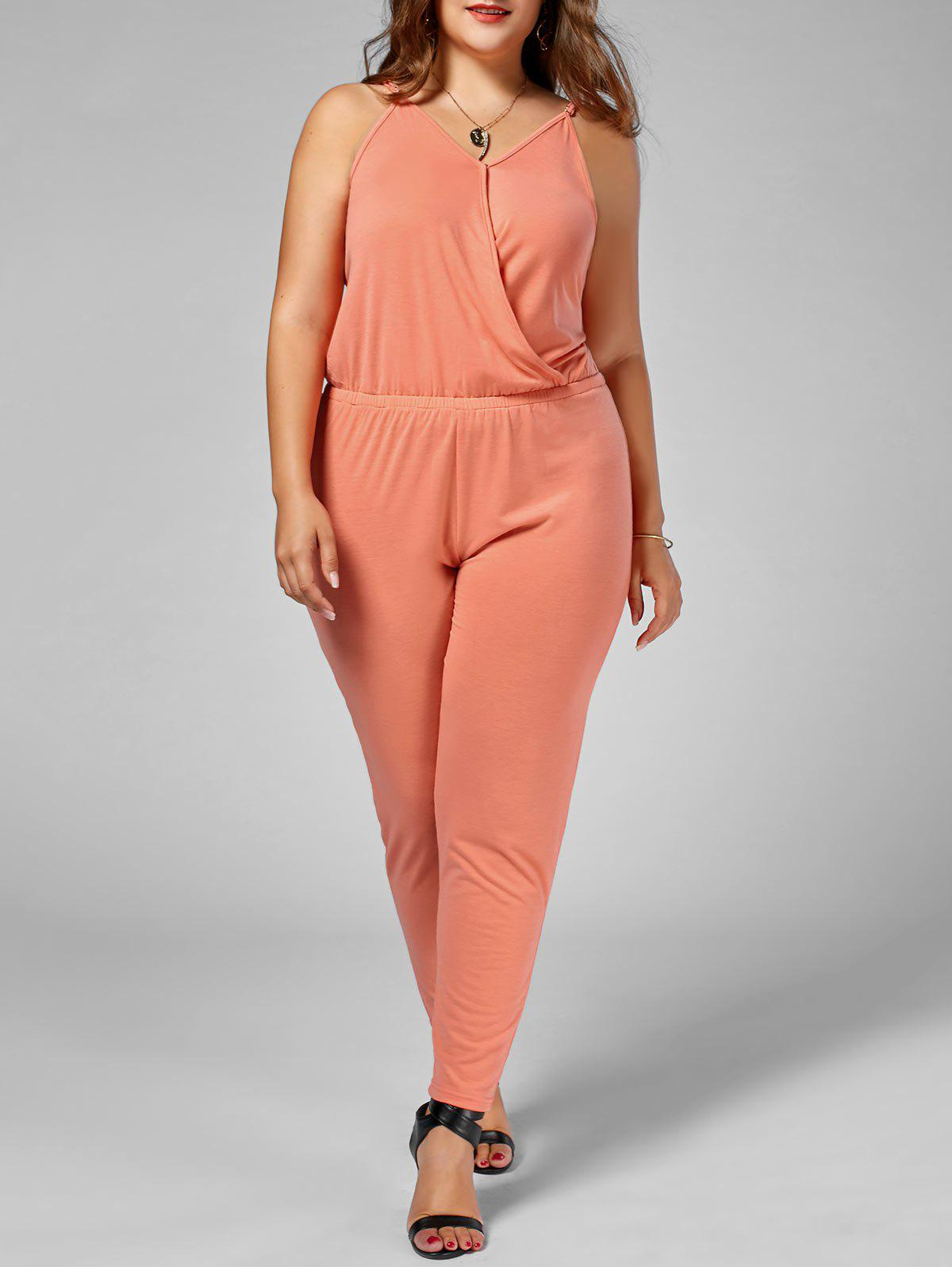 Fancy Plus Size Cami Jumpsuit