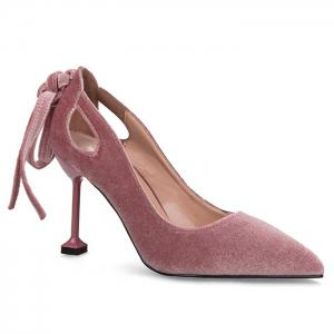 Velvet Strange Style Hollow Out Pumps