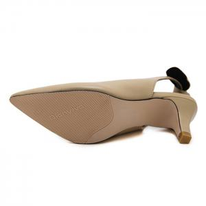 Slip On Slingback Point Toe Pumps - APRICOT 39