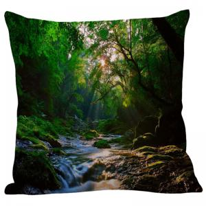 Mountain Stream Pattern Pillowcase