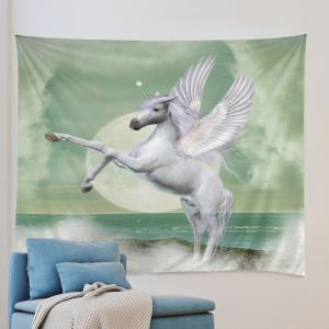 Winged Unicorn Print Tapestry Wall Hanging Art Decoration -