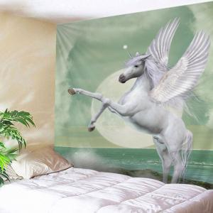Winged Unicorn Print Tapestry Wall Hanging Art Decoration