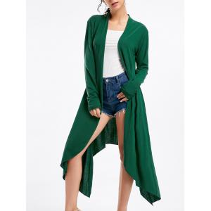 Open Front High Low Cardigan