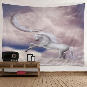 Moon Unicorn Print Tapestry Wall Hanging Art Decoration -