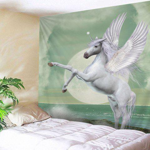 Outfit Winged Unicorn Print Tapestry Wall Hanging Art Decoration