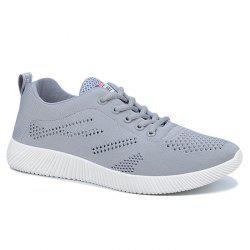 Tie Up Breathable Casual Shoes
