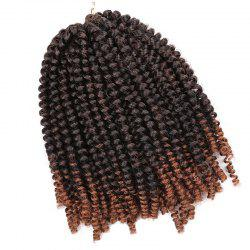 Short Fluffy Afro Spring Twist Braids Hair Extensions -