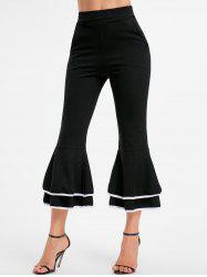 Layer Flounce Flare Pants