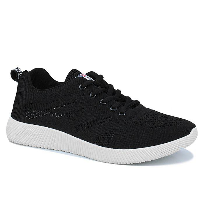 Fashion Tie Up Breathable Casual Shoes
