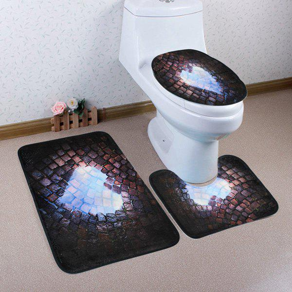Ensemble Tapis De Toilette
