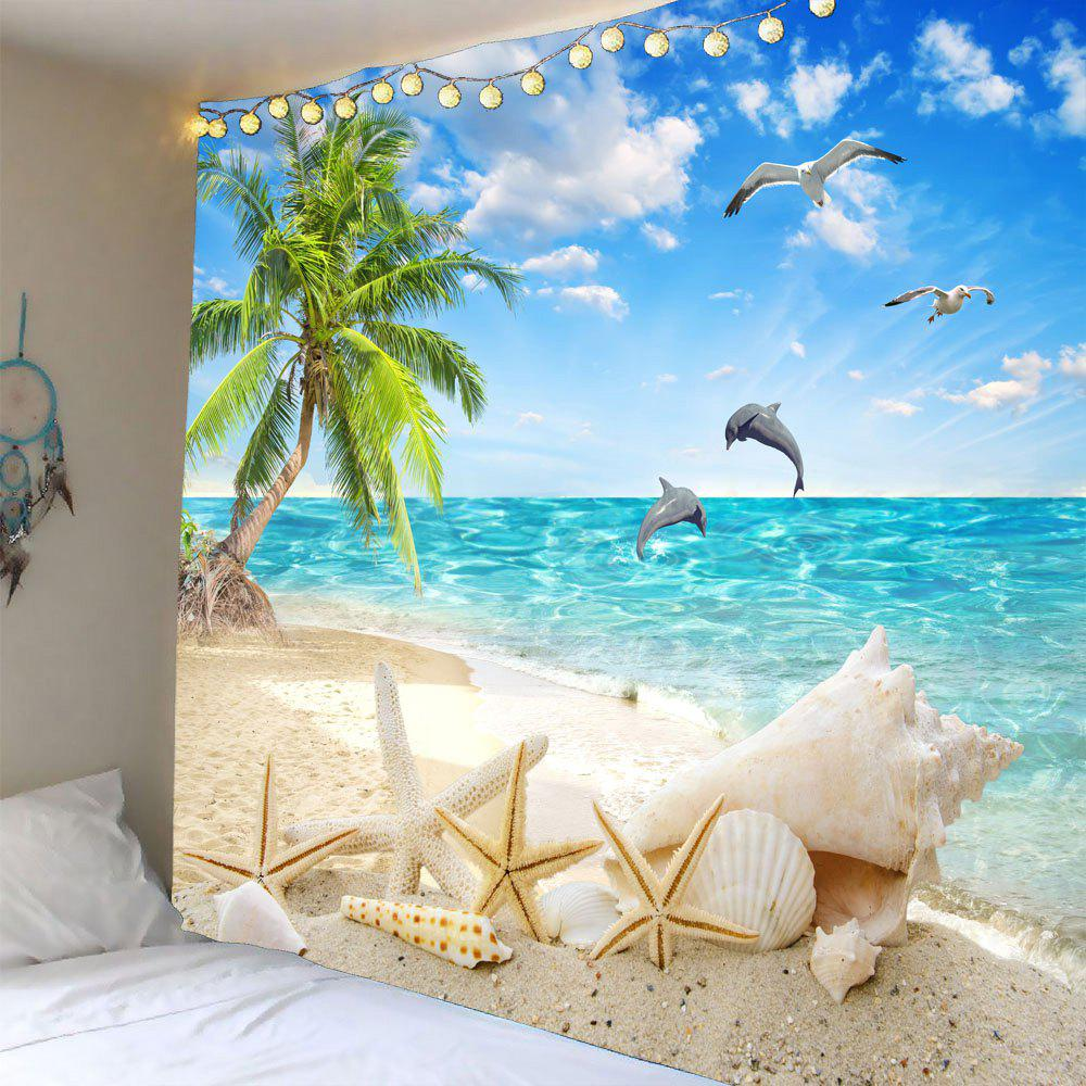 Outfits Coconut Palm Beach Seascape Waterproof Wall Tapestry