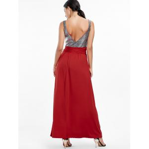 Robe de soiree - Rouge vineux  2XL