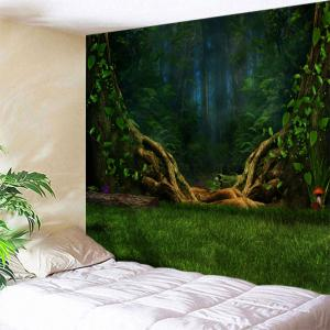 Dreamlike Forest Wall Decoration Fabric Tapestry