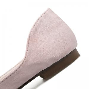 Tassels Pointed Toe Flat Shoes - Rose Clair 38