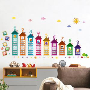 Multiplication Table Wall Art Sticker For Children Room - Colormix - 60*90cm