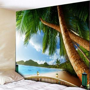 Coconut Tree Pattern Wall Hanging Tapestry