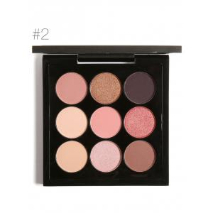 9 Colors Long Lasting Not Dizzy Waterproof Eyeshadow Kit