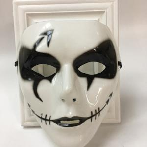 Halloween Party Dancer Accessories Ghost Mask - WHITE FOR MEN (W16.5*H19.5CM)