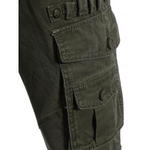 Multi-pockets Pants - ARMY GREEN 3XL