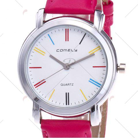 Buy Faux Leather Band Round Analog Watch - TUTTI FRUTTI  Mobile