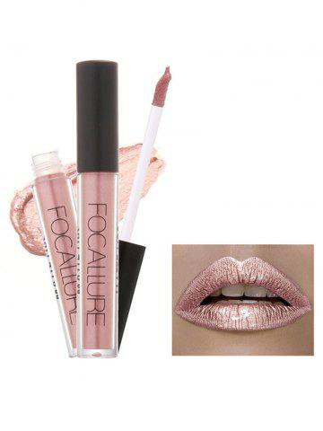 Outfit Metallic Color Moisturizing Waterproof Lip Glaze - #01  Mobile