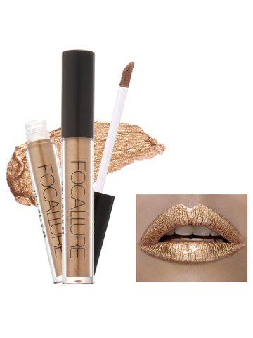 Fashion Metallic Color Moisturizing Waterproof Lip Glaze - #06  Mobile