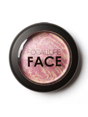 Fashion Soft Mineral Waterproof Blusher Palette - #01  Mobile