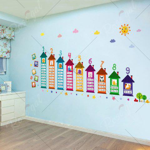 Shops Multiplication Table Wall Art Sticker For Children Room - 60*90CM COLORMIX Mobile