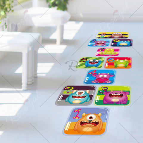 Shops Hopscotch Monsters Wall Art Sticker For Children Room - 60*90CM COLORMIX Mobile