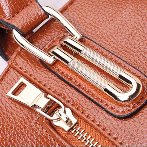 Sale Zippers Belt Buckles Tote Bag - OFF-WHITE  Mobile