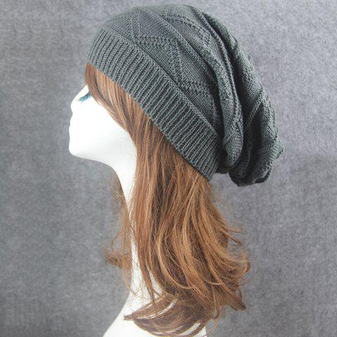 Unique Knitting Wave Striped Beanie