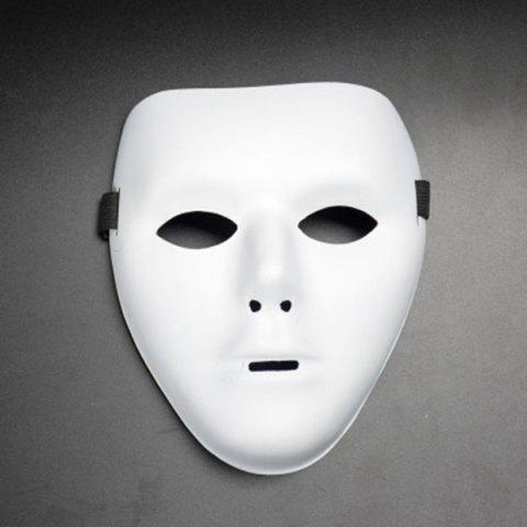 Trendy Halloween Party Accessories Ghost Mask - WHITE  Mobile