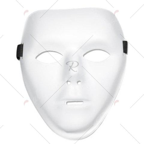 Unique Halloween Party Accessories Ghost Mask - WHITE  Mobile