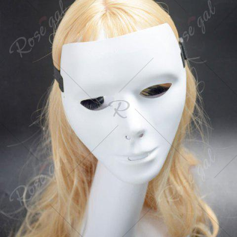 Discount Halloween Party Accessories Ghost Mask - WHITE  Mobile