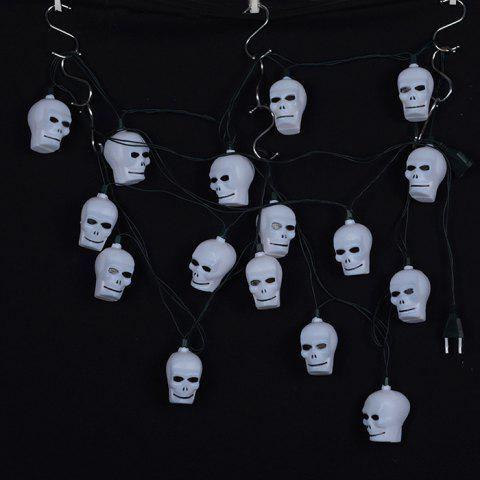 Outfit 16 Pcs LED Skull Halloween Party Hanging String Lights - COLORFUL  Mobile