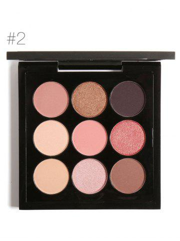 Affordable 9 Colors Long Lasting Not Dizzy Waterproof Eyeshadow Kit